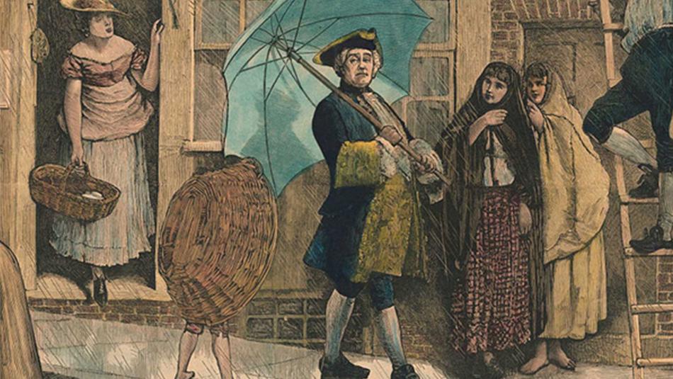 Die Geschichte des Regenschirms