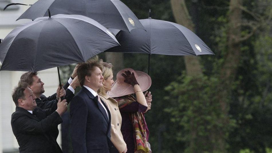Schirm Oertel beliefert den Bundespräsidenten