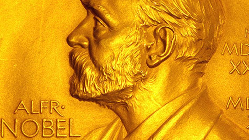 Ein Schirm für die Nobelpreisverleihung