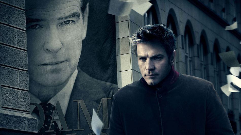 """Schirme für den Hollywood-Film """"the Ghostwriter"""""""