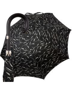 Oertel Handmade Ladies - Leafs - black   European Umbrellas