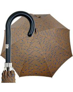 Oertel Handmade Ladies - Leafs - olive   European Umbrellas