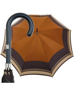 Oertel Handmade Ladies - butterfly - blue yellow   European Umbrellas