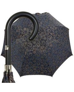 Oertel Handmade Ladies - Paisley - blue-orange   European Umbrellas