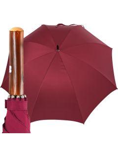 Oertel Handmade - Sport uni - golf umbrella - red | European Umbrellas
