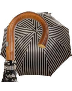 Oertel Handmade - Sport - Tweed Stripes - orange | European Umbrellas