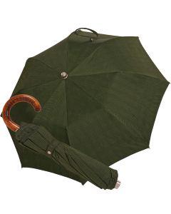 Oertel Handmade Taschenschirm - Ahorn glencheck grün | Schirm Oertel