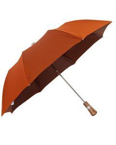 Oertel Handmade Taschenschirm - Ahorn Dots orange-schwarz