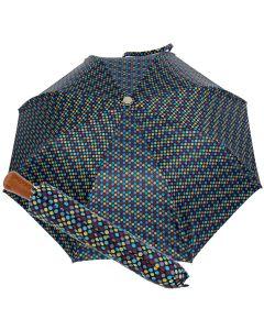 Oertel Handmade Taschenschirm - Ahorn Multi Dots marine