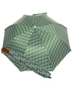 Oertel Handmade Taschenschirm - Ahorn Multi Dots türkis