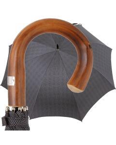 Oertel Handmade - Sport glencheck - black   European Umbrellas