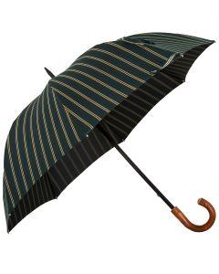 Oertel Handmade - Sport Stripes - green-beige | European Umbrellas