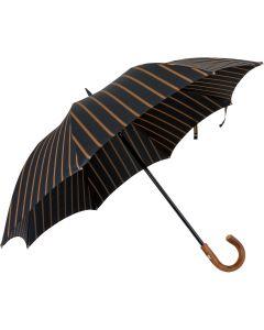 Oertel Handmade - Sport Stripes - black-beige | European Umbrellas