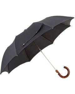 Oertel Handmade pocket umbrella maple - black | European Umbrellas