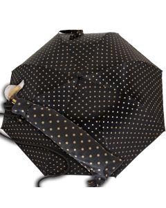 Marchesato - pocket umbrella - dots | European Umbrellas