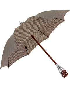 Marchesato Handmade leather seat - beige | European Umbrellas