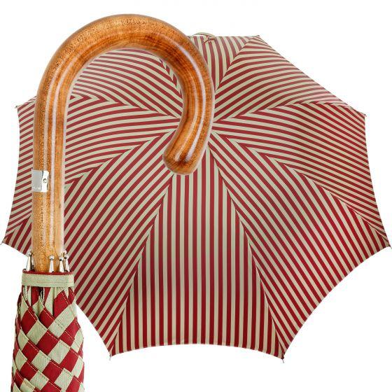 Oertel Handmade - Classic Ahorn - Streifen - rot/beige