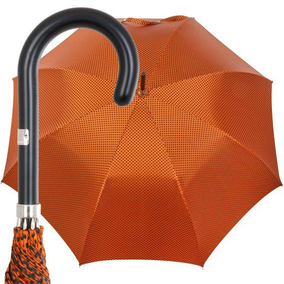 Oertel Handmade Damen - Punkte - orange-schwarz