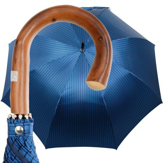 Oertel Handmade - Sport Nadelstreifen - royal/marine
