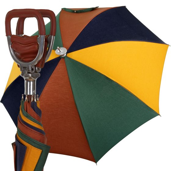 Oertel Handmade leather seat | European Umbrellas