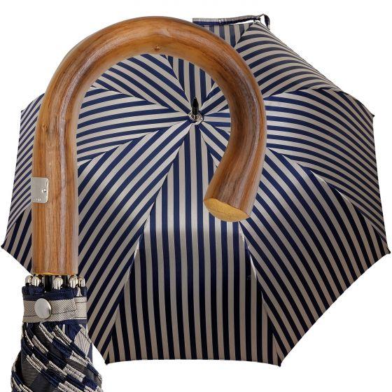 Oertel Handmade - Sport Streifen - blau/beige