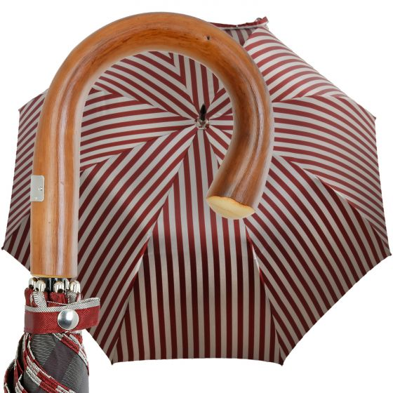 Oertel Handmade - Sport Streifen - rot/beige