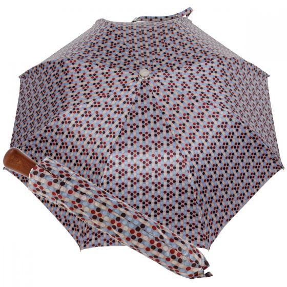 Oertel Handmade Taschenschirm - Ahorn Multi Dots grau