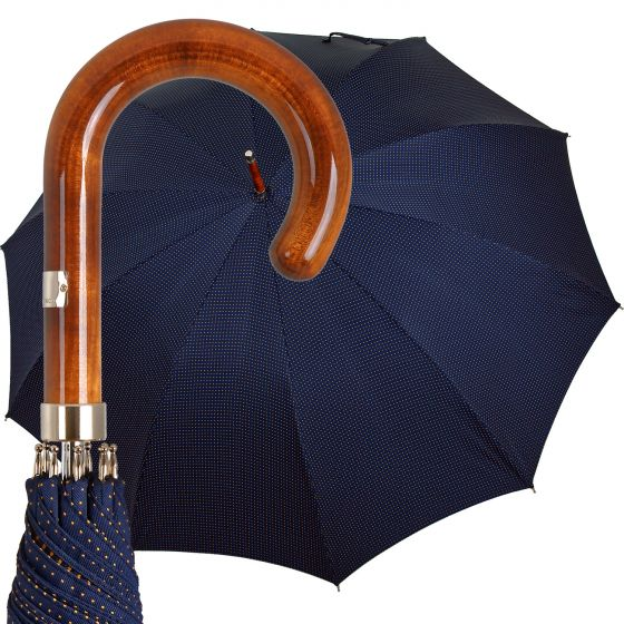 Oertel Handmade - Classic II - Dots blue-yellow | European Umbrellas