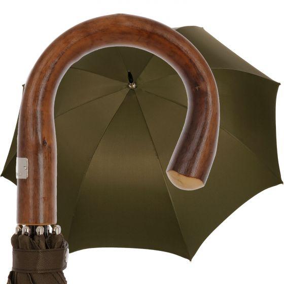 Oertel Handmade - Sport uni - golf umbrella - olive | European Umbrellas