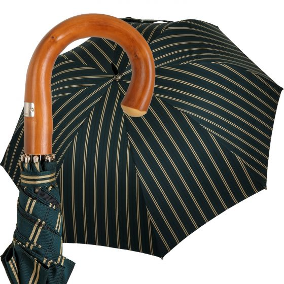 Oertel Handmade - Sport Stripes - green-beige   European Umbrellas