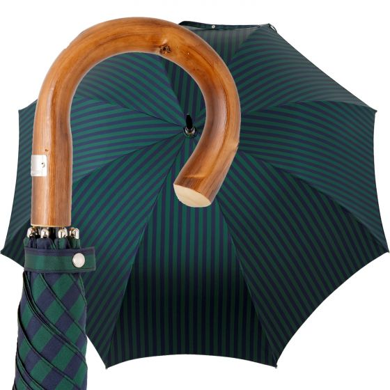 Oertel Handmade - Sport Stripes - green-blue | European Umbrellas