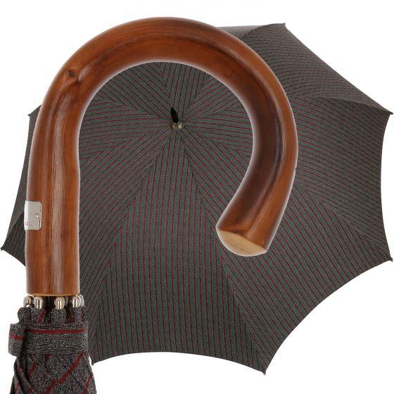 Oertel Handmade - Sport - Tweed stripes - red | European Umbrellas