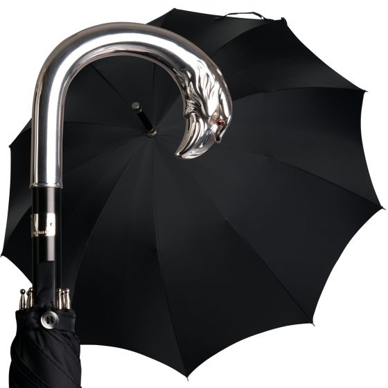 Oertel Handmade - Sterling Silver - Eagle | European Umbrellas