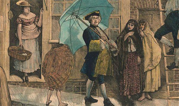 Der Erfinder des Regenschirms
